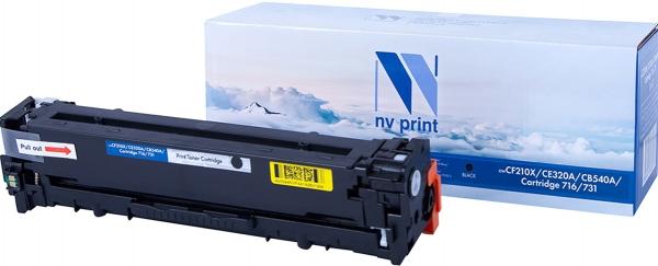 Картридж совместимый NVPrint CF210X/CE320A/CB540A/Canon 716/731 для HP и Canon черный