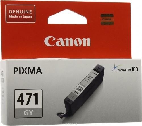 Картридж Canon CLI-471 XL GY оригинальный серый