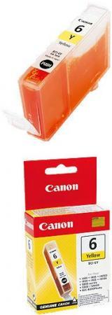Картридж Canon 6Y желтый совместимый InkTec