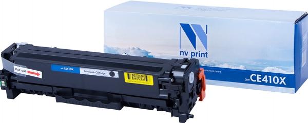 Картридж совместимый NVP CE410X черный для HP