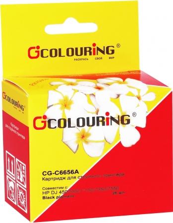 Картридж совместимый Colouring C6656A для HP черный