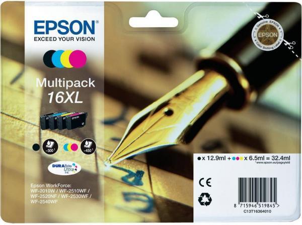 Картридж EPSON C13T16364010 четырехцветный оригинальный