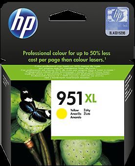 Желтый картридж HP CN048AE желтый оригинальный