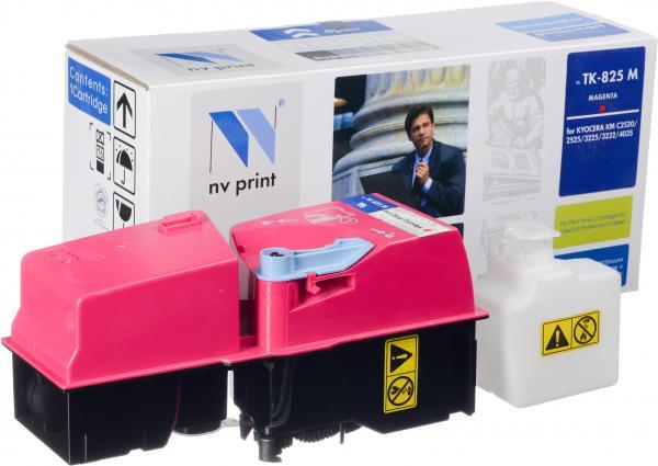 Тонер-картридж Kyocera TK-825M пурпурный совместимый NV Print