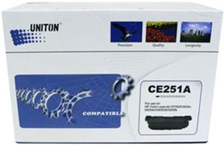 Картридж совместимый UNITON Premium CE251A голубой для HP