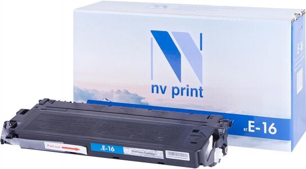 Картридж совместимый NVPrint E-16 для Canon