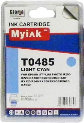 Картридж совместимый MyInk T0485 синий для Epson