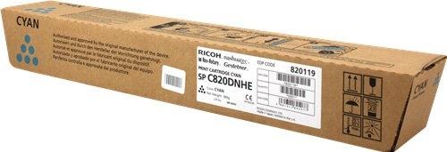 Принт-картридж SPC820DNHE для Ricoh голубой