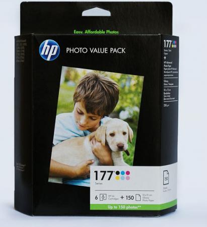 Картридж HP Q7967HE набор 6 картриджей + бумага оригинальный