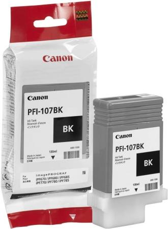 Картридж для Canon PFI-107 BK черный оригинальный
