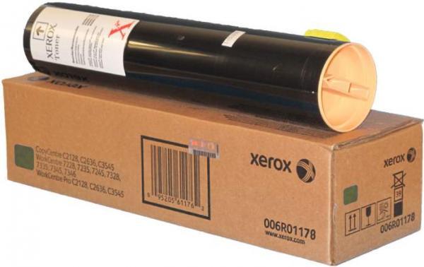 Тонер XEROX 006R01178 желтый оригинальный DIL для WCP 7228/35/45/7328/35/45/C2128/2636/3545