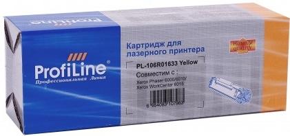 Картридж совместимый ProfiLine 106R01633 желтый для Xerox