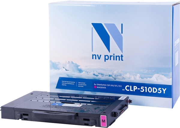 Картридж совместимый NVPrint CLP-M510D5 для Samsung пурпурный