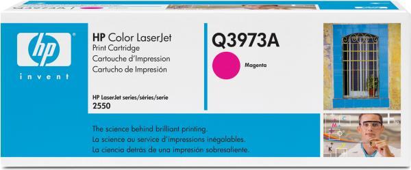 Картридж HP Q3973А пурпурный оригинальный
