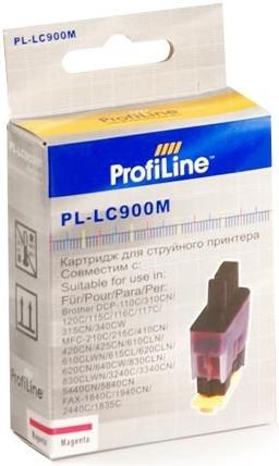 Картридж совместимый ProfiLine LC900M для Brother пурпурный