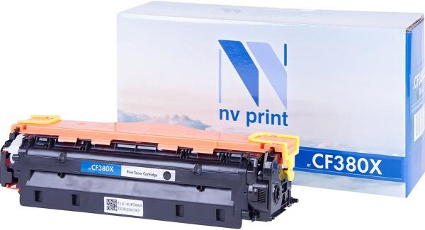 Картридж совместимый NVPrint CF380X для HP черный