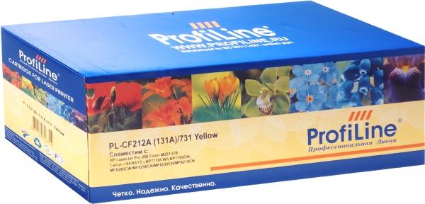 Картридж совместимый ProfiLine CF212A (131A)/731 Yellowдля HP