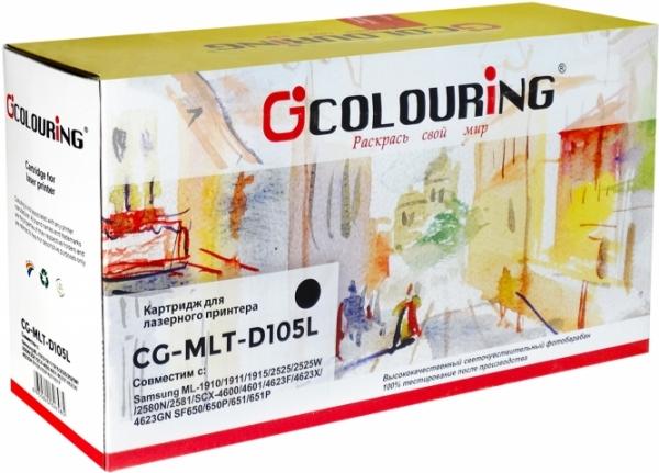 Картридж совместимый Colouring MLT-D105L для Samsung