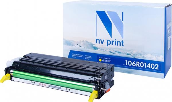 Картридж совместимый NVPrint 106R01402 для Xerox желтый