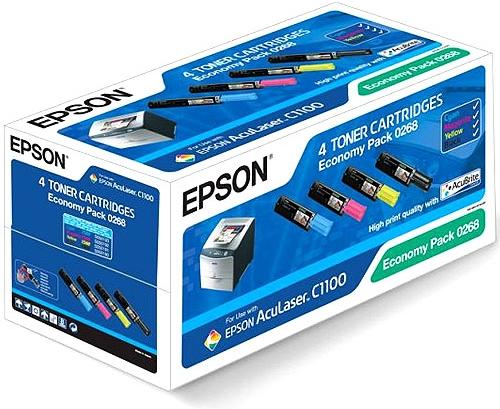 Набор картриджей EPSON C13S050268 оригинальный