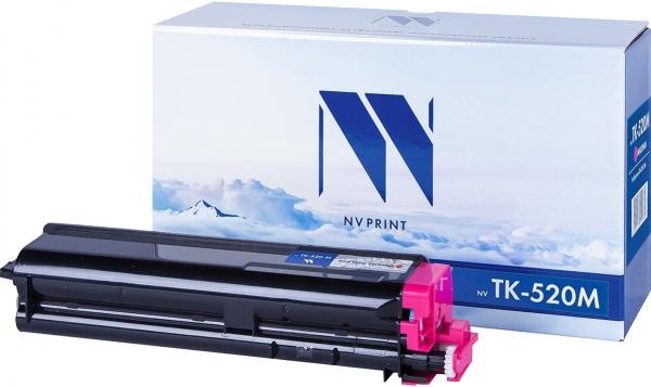 Картридж совместимый NVPrint TK-520 для Kyocera пурпурный