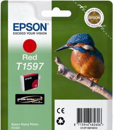 Картридж Epson C13T15974010 красный оригинальный