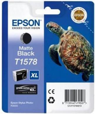Картридж EPSON T15784010 матовый черный оригинальный