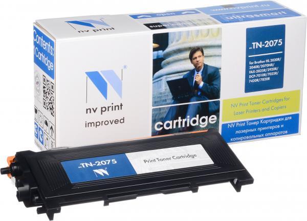 Картридж совместимый NV Print TN-2075 для Brother