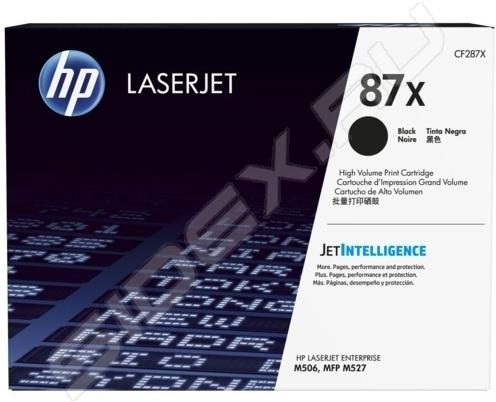 Картридж HP 87X оригинальный