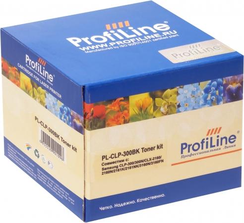 Тонер-туба совместимый ProfiLine CLP 300BK Black для Samsung