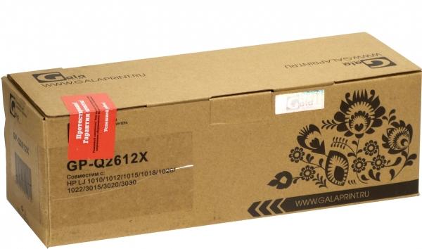 Картридж совместимый GalaPrint Q2612X для HP и Canon
