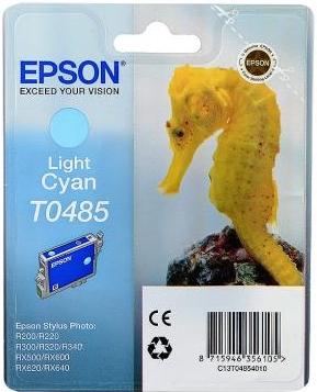 Картридж EPSON T0485 светло-голубой оригинальный