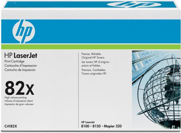 Картридж HP C4182X черный оригинальный