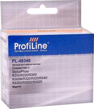 Картридж совместимый ProfiLine 48340 для Epson пурпурный