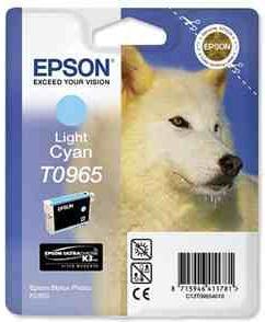 Картридж EPSON T09654010 светло-голубой оригинальный
