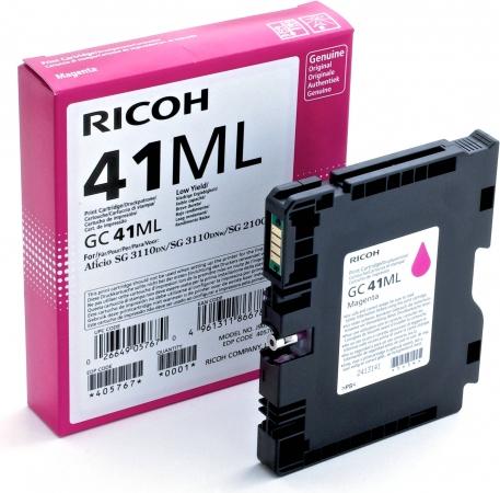 Картридж LE GC41ML для Ricoh Aficio пурпурный