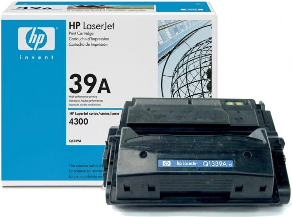 Картридж совместимый OEM Q1339A черный для HP