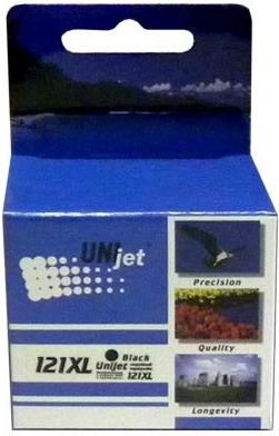Картридж совместимый Unijet CC641HE (121XL) черный для HP