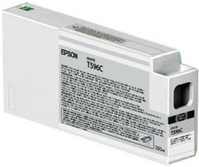 Картридж EPSON C13T596C00 белый оригинальный