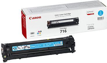 Тонер-картридж Canon 716C голубой совместимый NV Print