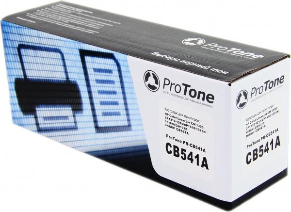 Картридж HP CB541A голубой совместимый ProTone