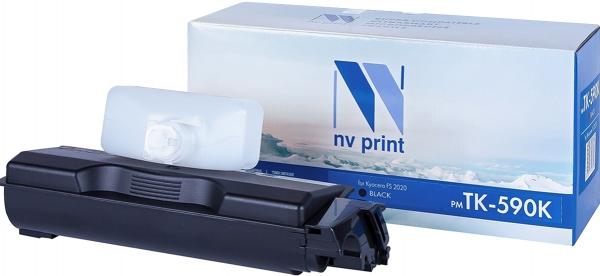 Картридж совместимый NVPrint TK-590 для Kyocera желтый