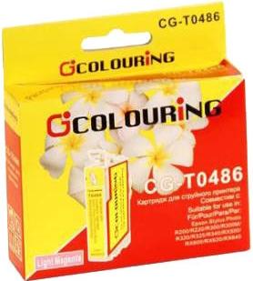 Картридж совместимый Colouring 48640 для Epson светло-пурпурный