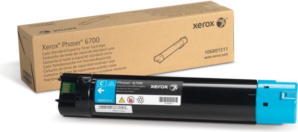 Картридж XEROX 106R01511 голубой оригинальный
