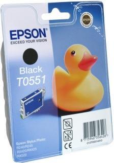 Картридж EPSON T055140 черный оригинальный