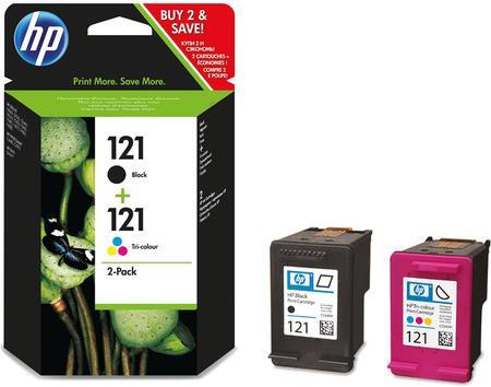Набор картриджей HP CN637HE (черный+цветной) CС640HE/CC643HE