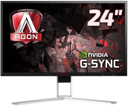 "Монитор 23.8"" AOC AGON AG241QG Black-Red"