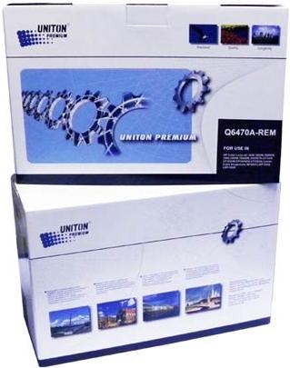 Картридж совместимый UNITON Premium Q6470A (501A) черный для HP