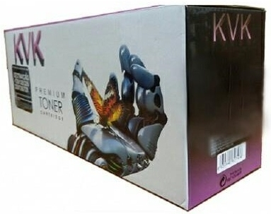 Картридж совместимый KVK CF411X голубой для HP