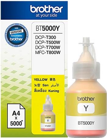 Картридж Brother BT5000Y оригинальный желтый